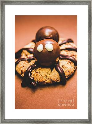 Eerie Monsters. Halloween Baking Treat Framed Print