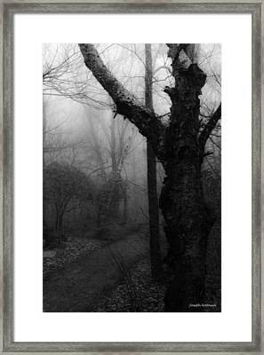 Eerie Stillness Framed Print