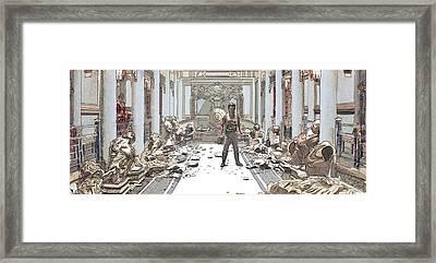 ...effect Framed Print by Kurt Ramschissel