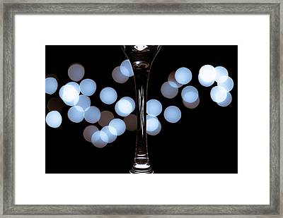 Framed Print featuring the photograph Effervescence by David Sutton