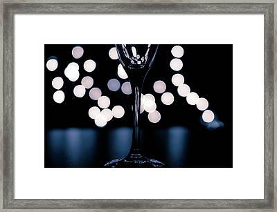 Framed Print featuring the photograph Effervescence II by David Sutton