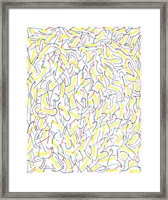 Effervescence Framed Print by Steven Natanson