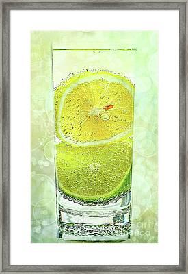 Effervescent Freshness By Kaye Menner Framed Print