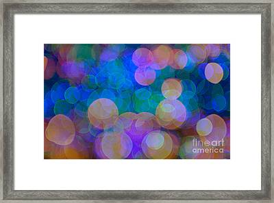 Effervescent.. Framed Print