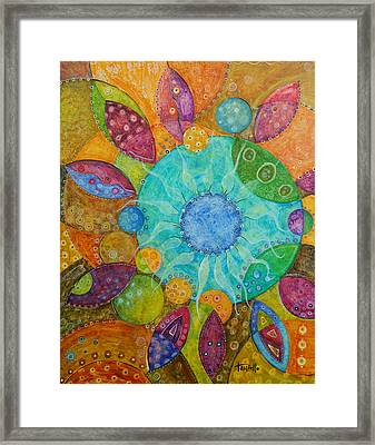 Effervescent Framed Print