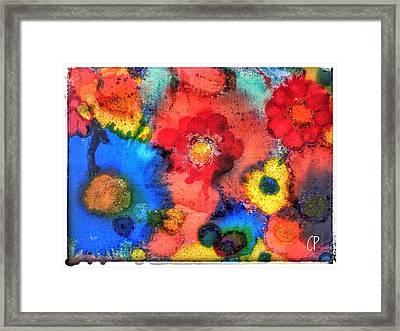 Efflorescence Framed Print
