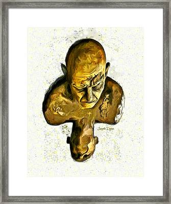 Effort - Da Framed Print by Leonardo Digenio