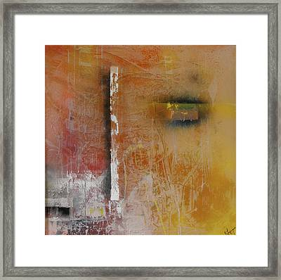 Effortless Mystery Of Trying Framed Print by Ralph Levesque