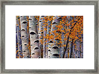 Effulgent October Framed Print