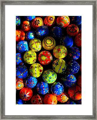 Egg - Parade Framed Print