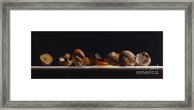 Egg And Shells No.7  Framed Print