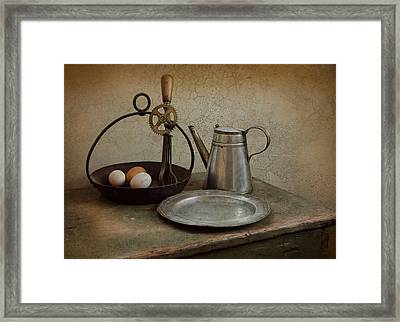 Egg Beaters Framed Print by Robin-Lee Vieira