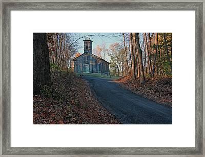 Egg Hill Church  Framed Print