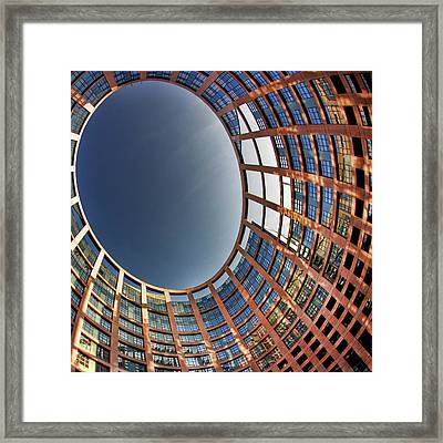 Framed Print featuring the photograph Egg by Stefan Nielsen