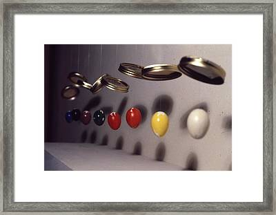 Egg Tempera  Framed Print by Ron Hayes
