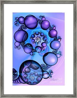 Egg Wreath Framed Print by Jutta Maria Pusl