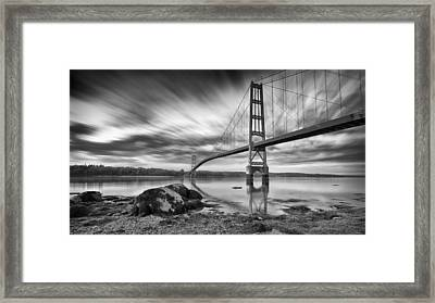 Framed Print featuring the photograph Eggemoggin Reach by Patrick Downey