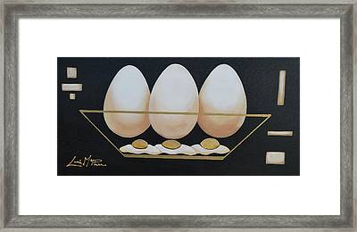 Eggs Anyone Framed Print by Lori McPhee