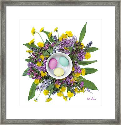 Eggs In A Bowl Framed Print