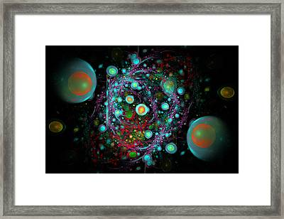 Eggs Nebula Framed Print