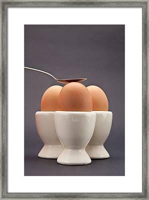 Eggs Framed Print by Tom Gowanlock