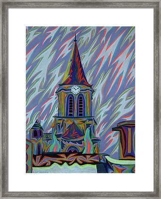 Eglise Onze - Onze Framed Print