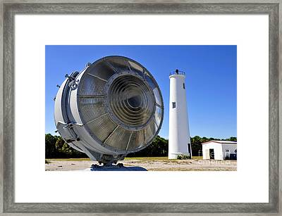 Egmont Key Lighthouse 1858 Framed Print by David Lee Thompson