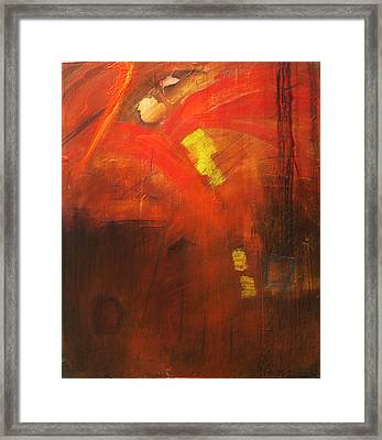 Ego Trip Framed Print by Carrie Allbritton