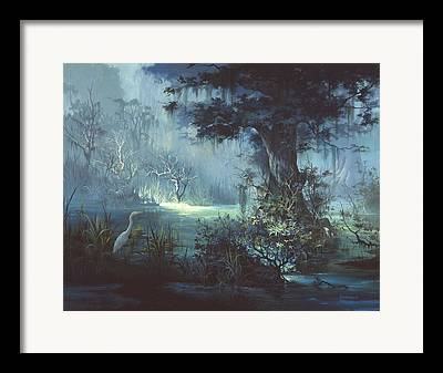 Florida Wildlife Framed Prints