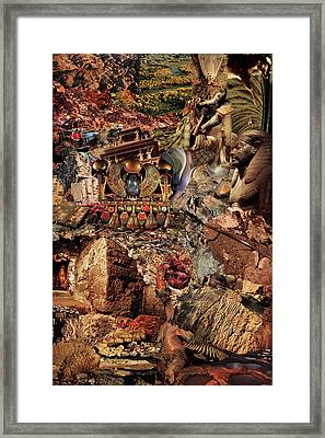 Egypsies Framed Print by Baba Trips