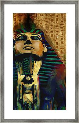 Egypt 156 3  Framed Print by Mawra Tahreem