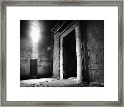 Egypt: Dendera: Temple Framed Print