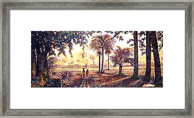 Egypt Framed Print by Norma Boeckler