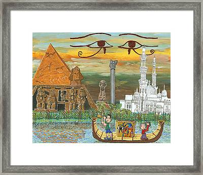 Egypt   Jan Framed Print