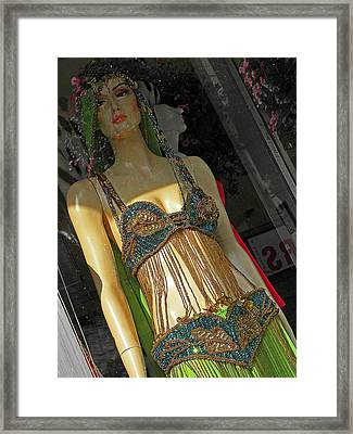 Egyptian Beauty Framed Print by Elizabeth Hoskinson