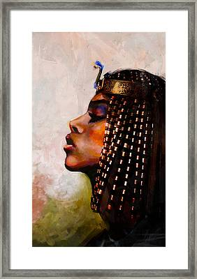 Egyptian Culture 39b Framed Print