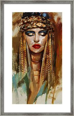 Egyptian Culture 4 Framed Print by Mahnoor Shah