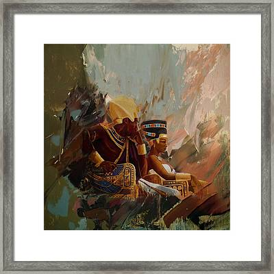 Egyptian Culture 44b Framed Print