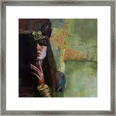 Egyptian Culture 45  Framed Print
