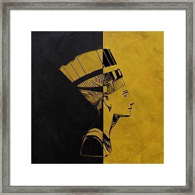 Egyptian Culture 53c Framed Print