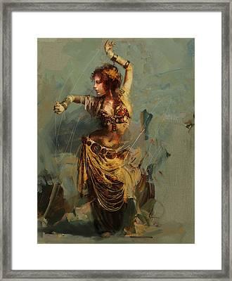 Egyptian Culture 7 Framed Print by Maryam Mughal