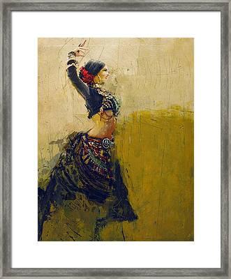 Egyptian Culture 77 Framed Print
