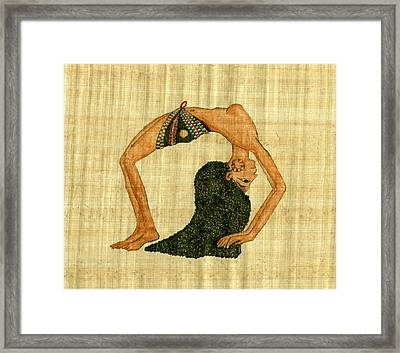 Egyptian Dancer Framed Print