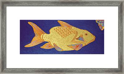 Egyptian Fish Framed Print