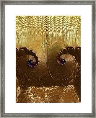 Egyptian God Framed Print