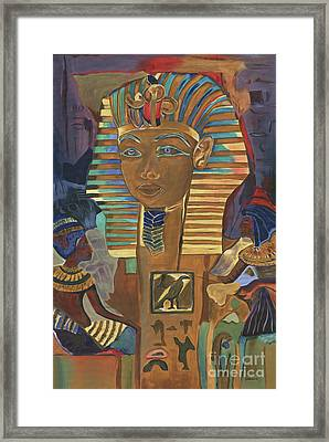 Egyptian Man Framed Print by Debbie DeWitt