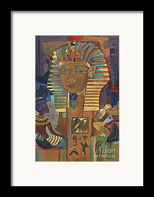 Sphinxes Framed Prints