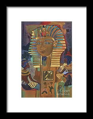 Sphinx Framed Prints