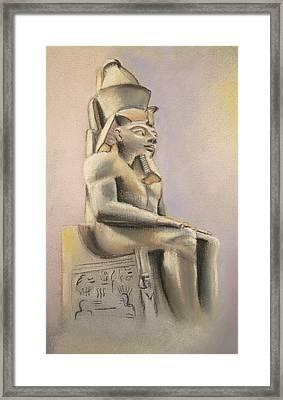 Egyptian Study II Framed Print