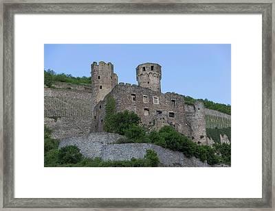 Ehrenfels Castle 02 Framed Print by Teresa Mucha
